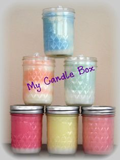8 oz. Candles