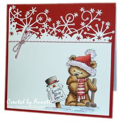 Netty's Cards: Santa Stop Here
