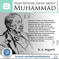 08 D. G. Hogarth on Prophet Muhammad S.A.W