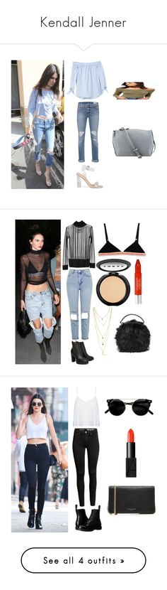 """Kendall Jenner"" by tonia21-1 ❤ liked on Polyvore featuring MANGO, rag & bone, Nine West, Miss Selfridge, D&G, MM6 Maison Margiela, Topshop, Report, LULUS and Trish McEvoy"