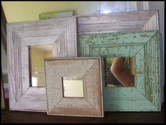old barn wood frames – Diy Home Decor Wood Barn Wood Crafts, Barn Wood Projects, Old Barn Wood, Reclaimed Barn Wood, Barnwood Ideas, Barn Wood Picture Frames, Wood Frames, House On The Rock, Cozy House