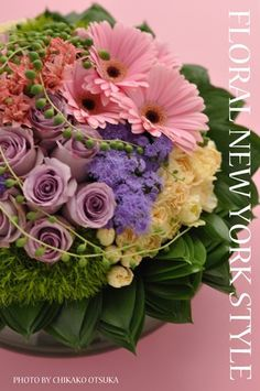 Fresh Flower Arrangement #5 by FLORAL NEW YORK, via Flickr