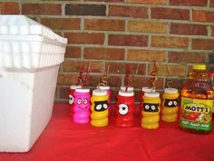Water bottles handmade for all the kiddos!