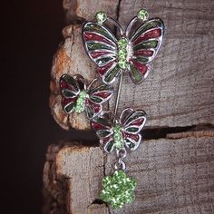 Butterfly Brooch to compliment every occasion  #craft365.com