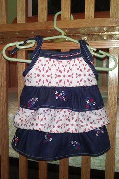 (9) Name: 'Sewing : Ruffled Newborn Baby Dress