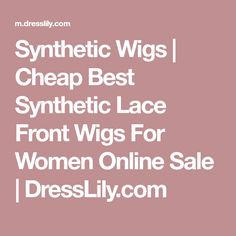 7 Main Reasons For Using Human Hair Wigs Protective Hairstyles, Protective Styles, Wig Hairstyles, Synthetic Lace Front Wigs, Synthetic Wigs, Natural Hair Styles, Short Hair Styles, Beautiful Haircuts, Quick Weave