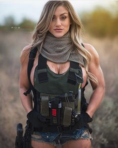 Women With Weapons - Hot Military Girls - Girls With Guns Photo. Facts That Show How Far Women Have Come In The Military Badass Women, Sexy Women, Military Women, Military Army, Female Soldier, Tactical Gear, Guns, Woman Crush, Lady