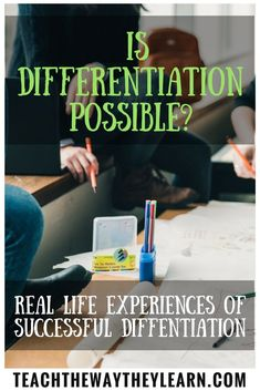 Do you have so many ability levels in your class that differentiation feels impossible?  Is there enough time to plan for all the needs in your classroom?  Here are 2 real life examples of how differentiation and inclusion can be a support to classroom teachers instead of causing burn-out.
