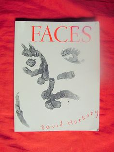 David Hockney Art Book Faces 1966-1984 Hockney Life Drawing Collection Modern Art History.
