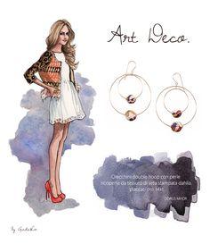 Orecchini per tutti gli stili su Giada&Co. http://www.giadaandco.com/designer-collection/dorus-mhor/or2137 #ARTDECO  #DORUSMHOR