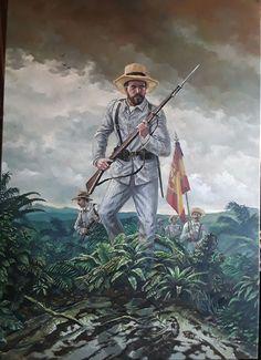 Soldados españoles durante la Guerra de Cuba, cortesía de Breogán Álvarez. http://www.elgrancapitan.org/foro/viewtopic.php?f=21&t=11680&p=931906#p931745
