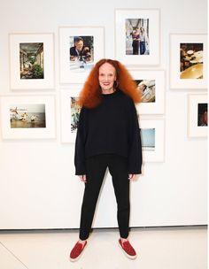 Grace Coddington - Creative director at large of American Vogue magazine