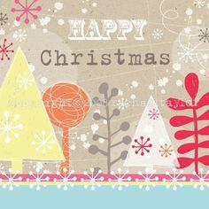 Eco Forest Christmas Design. Rachael Taylor