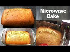 Microwave Vanilla Cake |Sponge Cake In Microwave - YouTube Microwave Sponge Cake, Microwave Chocolate Cakes, Incredible Recipes, Vanilla Cake, Bread, Easy, Youtube, Food, Essen