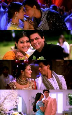 Kajol and Shah Rukh Khan are wonderful in Kabhi Khushi Kabhie Gham. One of my all time favourite heroines, heroes, couples and movies!!!