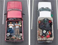 Sleeping Carpoolers Series, Alejandro Cartagena
