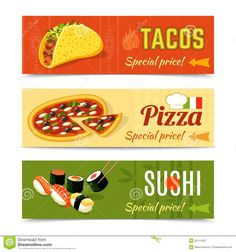 Food Banners Set - Download From Over 37 Million High Quality Stock Photos, Images, Vectors. Sign up for FREE today. Image: 52111937
