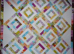 Quilt Patterns Iphigenes Walk Jelly Roll by LittleLouiseQuilts