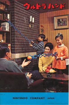 The Ultra Hand (Nintendo Co. Ltd.). Invented by Gunpei Yokoi.