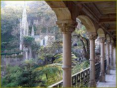 Quinta da Regaleira, Sintra, Portugal | ... Portugal - Sintra: Fechado/Closed in Postais Ilustrados de Portugal