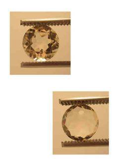 Golden Sunstone (Labradorite) Origin: Oregon USA: round 2,80 ct 9,5 x 6 mm - www.kn-jewellery.com