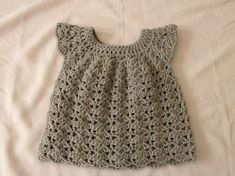 How to Infant Crochet dress for beginners