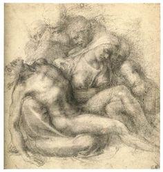 Michelangelo Lamentation of Christ