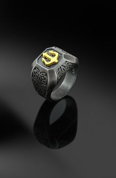 925 Sterling Silver Double Golden Butterfly Open Rings For Women Original Handmade Lady Prevent Allergy Sterling–silver-jewelry – Fine Sea Glass Jewelry Silver Celtic Rings, Celtic Knot Ring, Mens Silver Rings, Silver Man, Men Rings, Cool Rings For Men, Men's Jewelry Rings, Silver Jewelry, Gold Jewelry For Men