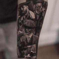 Tattoo artist Inal Bersekov, black&grey portrait realistic tattoo | Belgium