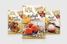 Carte d'Or traditional Turkish fruit desserts mix #packaging #design