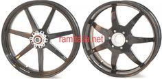 BST 7 Spokes type MAMBA Carbon Fibre Wheels