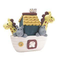 Gorgeous clay dough Noah's Ark - Ideal for Baby Basket