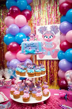 abby birthday party    elmo abby sesame street birthday party ideas