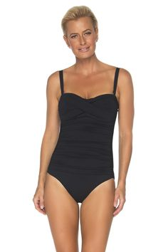 One piece swimsuits, tankinis, and bikinis all swimsuits fully lined and contain power netting for added support and Black Swimsuit, One Piece Swimsuit, Swimwear Australia, Tummy Control Swimsuit, Cruise Fashion, Cruise Wear, White Women, Summer Looks, Women Swimsuits