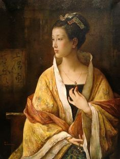 Artist: Tang   Wei Min, Title: In Contemplation