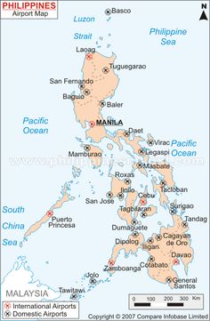 The Philippines Map Philippines Pinterest Philippine Map - Maps of the philippines