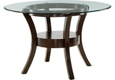 Delacourt Dining Table. $319.99. 48L x 48W x 30.5H. Find affordable Dining Tables for your home that will complement the rest of your furniture.