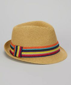 Take a look at this Natural Straw Fedora by Boardwalk Style on #zulily today! $12.99, regular 21.00