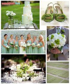 casamento verde menta