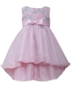 eaba8899865 Bonnie Baby Girls  High-Low Dress Kids - Dresses - Macy s
