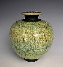 Green Spring by Tom Neugebauer (Ceramic Vase)