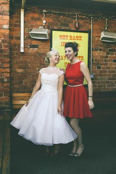Red, Yellow and Polka Dots – A Fun and Quirky 1950s Retro Style Wedding | Love My Dress® UK Wedding Blog