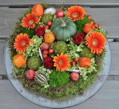 Herbst-Blumen-Arrangement ~ gesehen bei: Love for all seasons https://www.facebook.com/Love-for-all-seasons-307917175902147/
