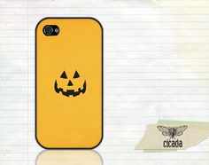 Halloween iPhone Case  Pumpkin Face iPhone 4 Case by StudioCicada, $14.99