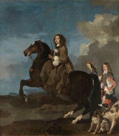 Cristina de Suecia a caballo - Colección - Museo Nacional del Prado