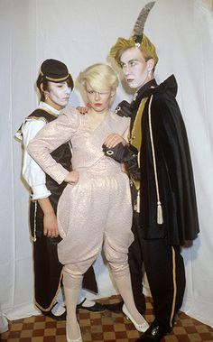 New Romantics [Fantasy Ball at the Rainbow, London, Britain - 1981] #dressmaking #calicolaine