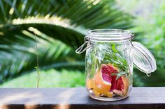 #DRINKRECIPE - Grapefruit Tarragon Infused Vodka