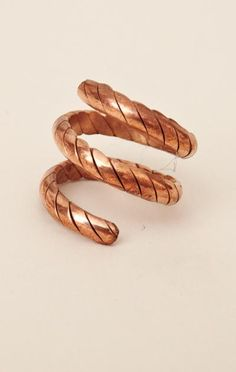 Natalie B Jewelry Coil Adjustable Ring