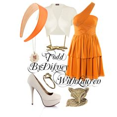 i'm not big on orange but the whole outfit is just so cute