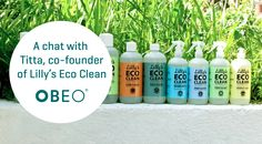 We all love a clean home and clever, eco friendly products here at Obeo. So, it's no wonder we're a fan of 'Lilly's Eco Clean'. Co Founder, Cleaning Products, Love Is All, Irish, Eco Friendly, Interview, Personal Care, Bottle, Self Care